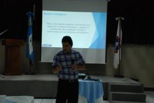 Durante la presentación